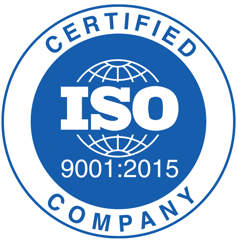 ISO 9001:2015 accreditation logo